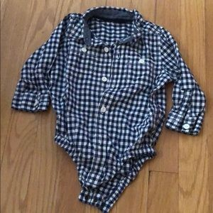 BabyGap long sleeve dressy button up shirt